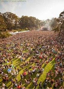 The summer festival scene at Outside Lands. (Photo: Josh Withers / O.L.)